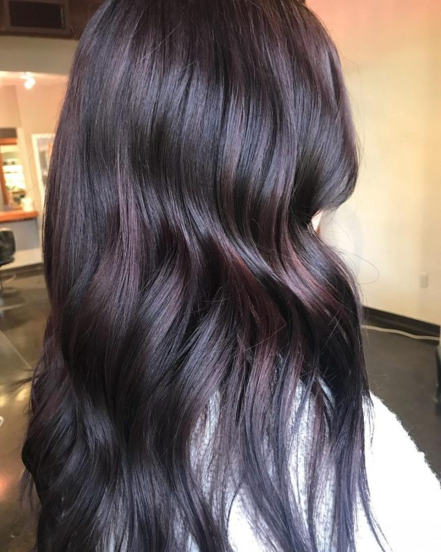 33 flattering dark hair colors for every skin tone in 2019