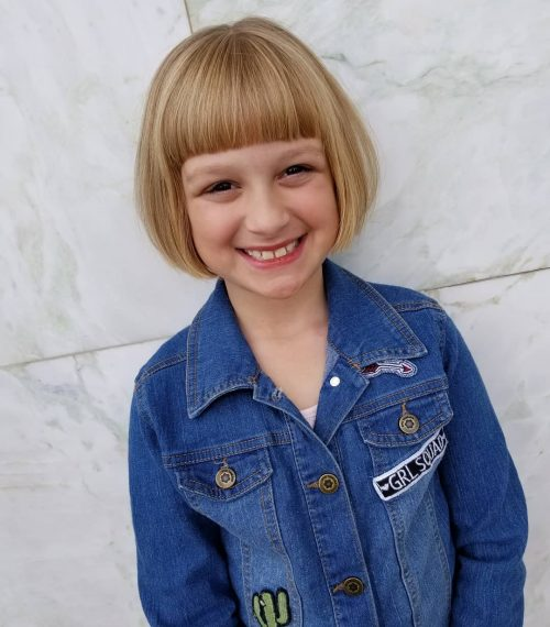 18 Cutest Short Hairstyles For Little Girls In 2020