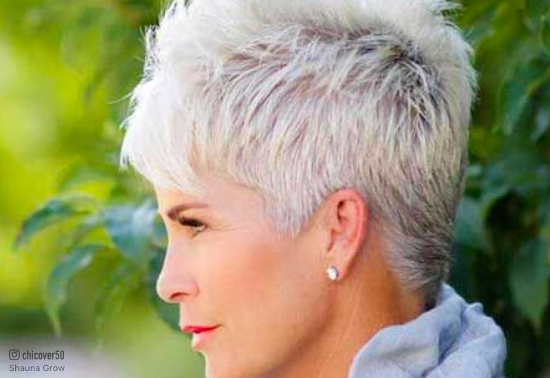 32 Flattering Short Haircuts For Older Women In 2019
