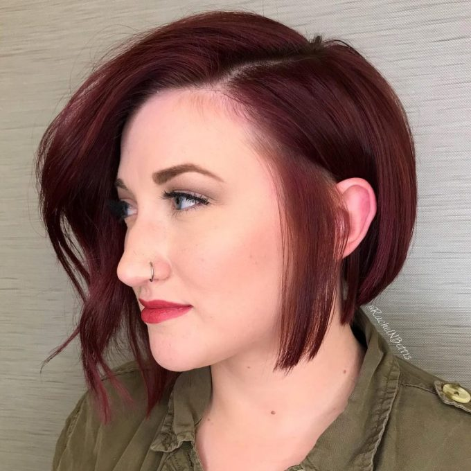 38 most flattering short hairstyles for round faces