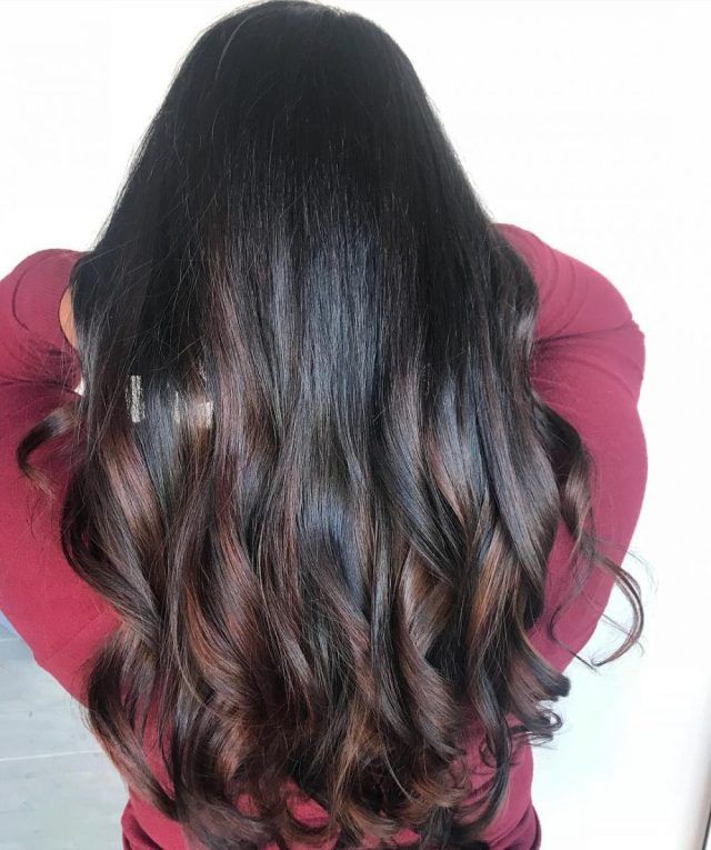 33 flattering dark hair colors for every skin tone in 2019