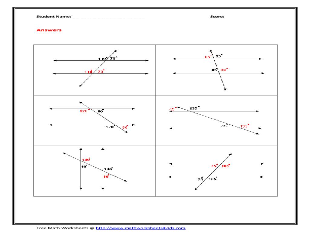 Free Worksheet Corresponding Angles Worksheet alternate interior exterior corresponding angles worksheet worksheets free intrepidpath