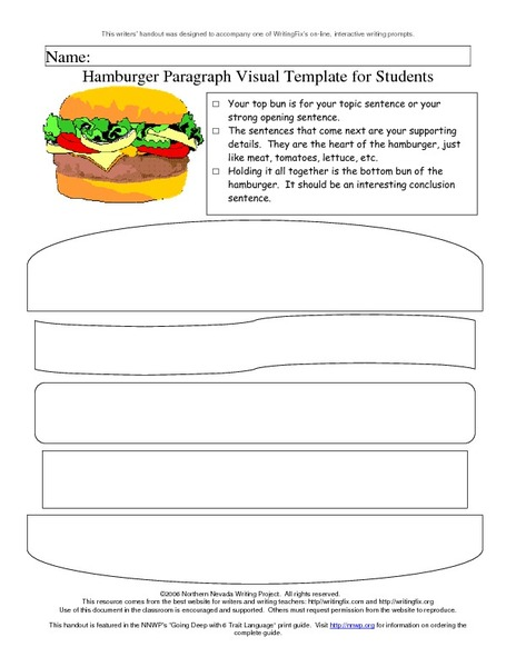 Essay hamburger
