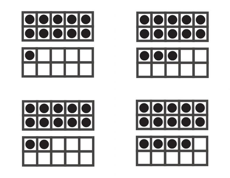 Number Names Worksheets » Ten Frames Worksheets - Free Printable ...