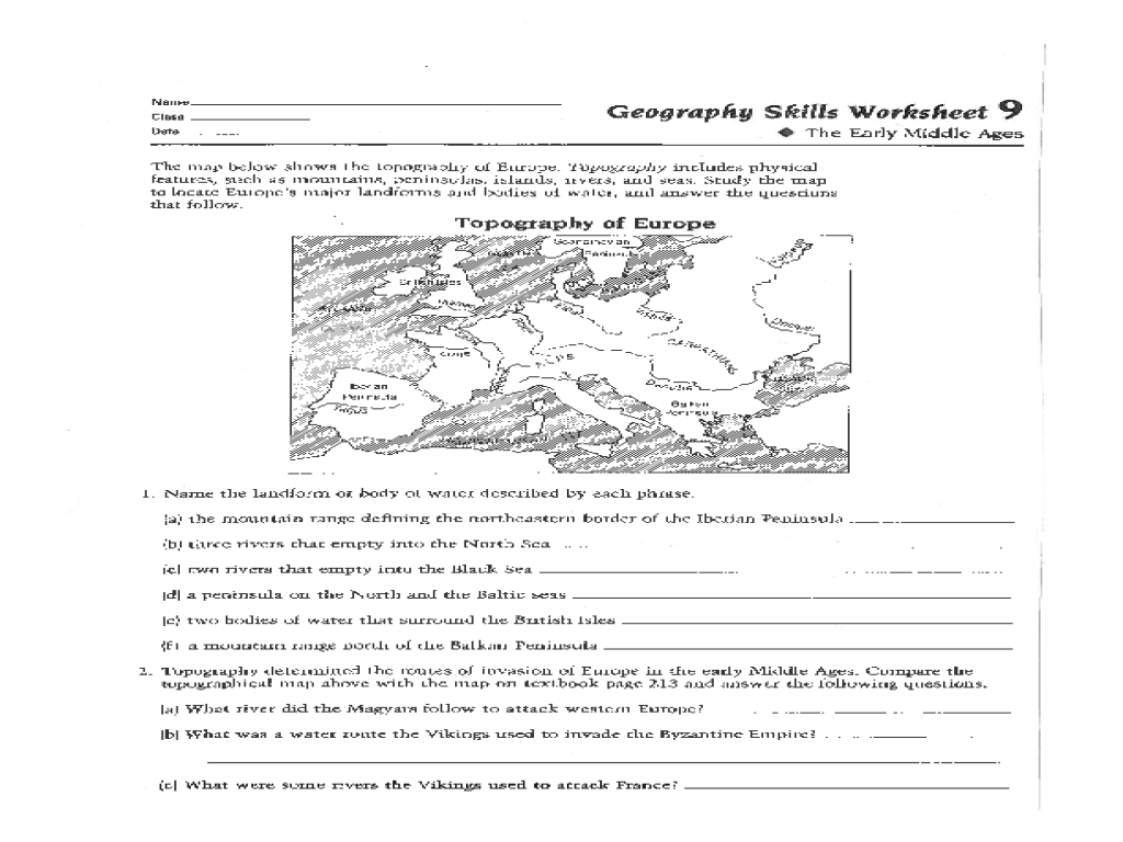 worksheet Geography Worksheets Year 7 middle school geography worksheets free library worksheets