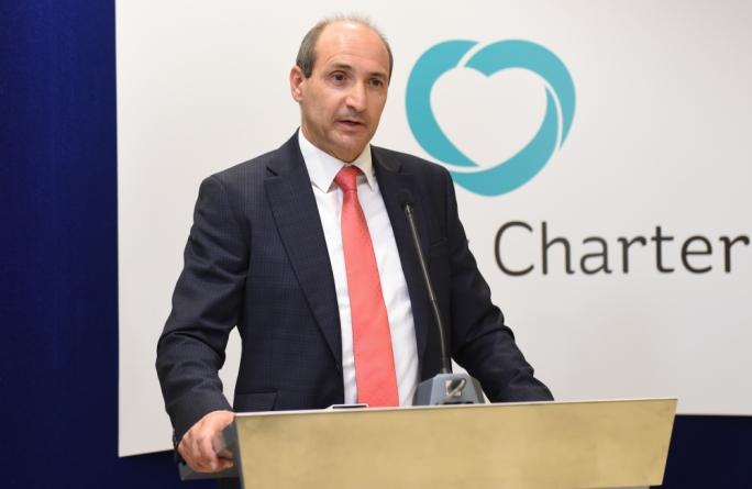 Health minister Chris Fearne