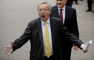 Image result for jean claude juncker drunk