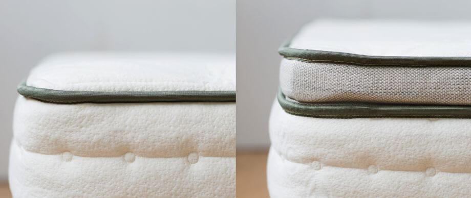 pillow top vs euro top mattress how