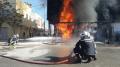 القيروان: حريق هائل داخل مستودع بنزين