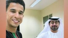 فراس بالعربي يمضي لنادي عجمان الاماراتي