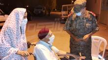 الجيش يقترب من تطعيم 10 آلاف شخص من أهالي تطاوين