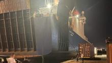 أربعة صهاريج أكسيجين تصل ميناء رادس قادمة من مرسيليا