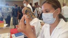 انطلاق تلقيح عمال النظافة ببلدية تونس