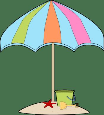 Summer Umbrella Clipart