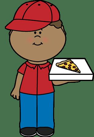 Pizza Delivery Boy Clip Art Pizza Delivery Boy Image