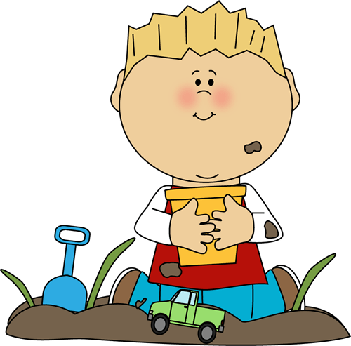 Boy Playing in the Dirt Clip Art - Boy Playing in the Dirt ... (500 x 493 Pixel)