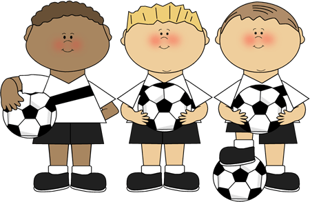 Boy Soccer Players Clip Art Boy Soccer Players Image