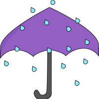 The Purpily Wurpily Umbrella (A Children's Poem)