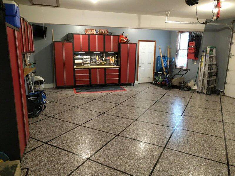 4 garage floor tiles that are practical