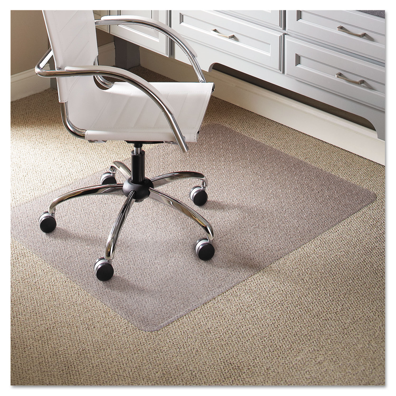 Check Out Everlife Light Use Chair Mat For Flat Pile