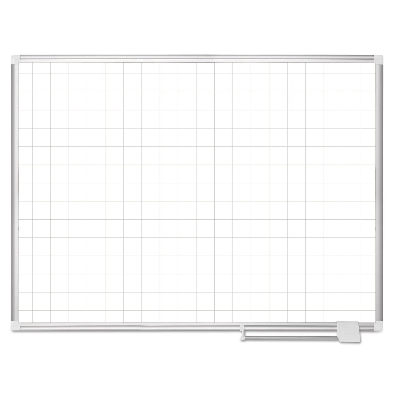 Platinum Plus Magnetic Porcelain Dry Erase Board 2 X 2
