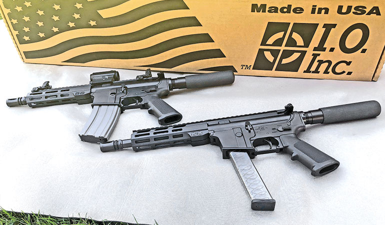 Inter Ordnance AR-15 9mm & 5.56 Pistols - A Green Beret Evaluation