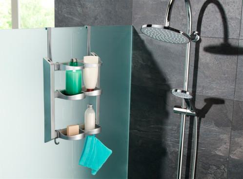 etagere de douche avec crochets perfect