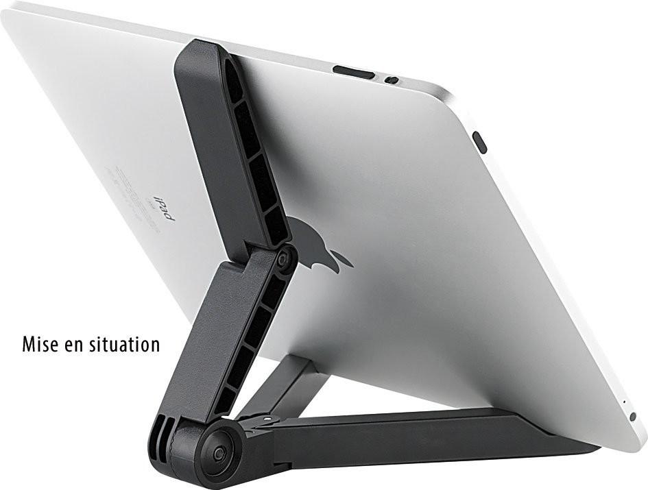 support pliable pour ipad tablette pc