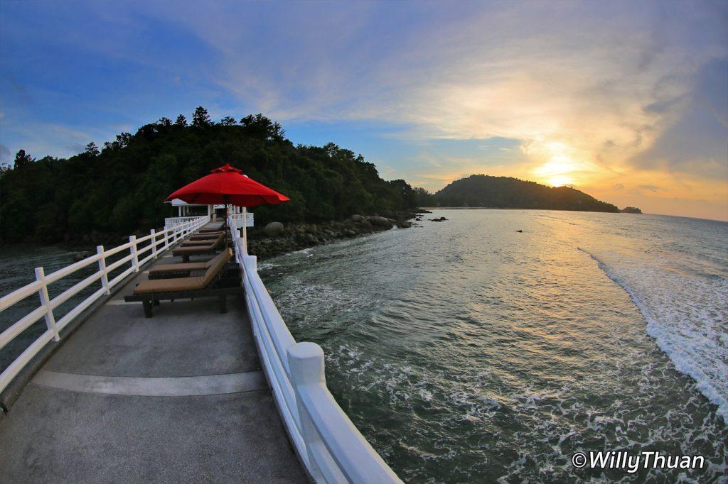 The pier at Amari Phuket