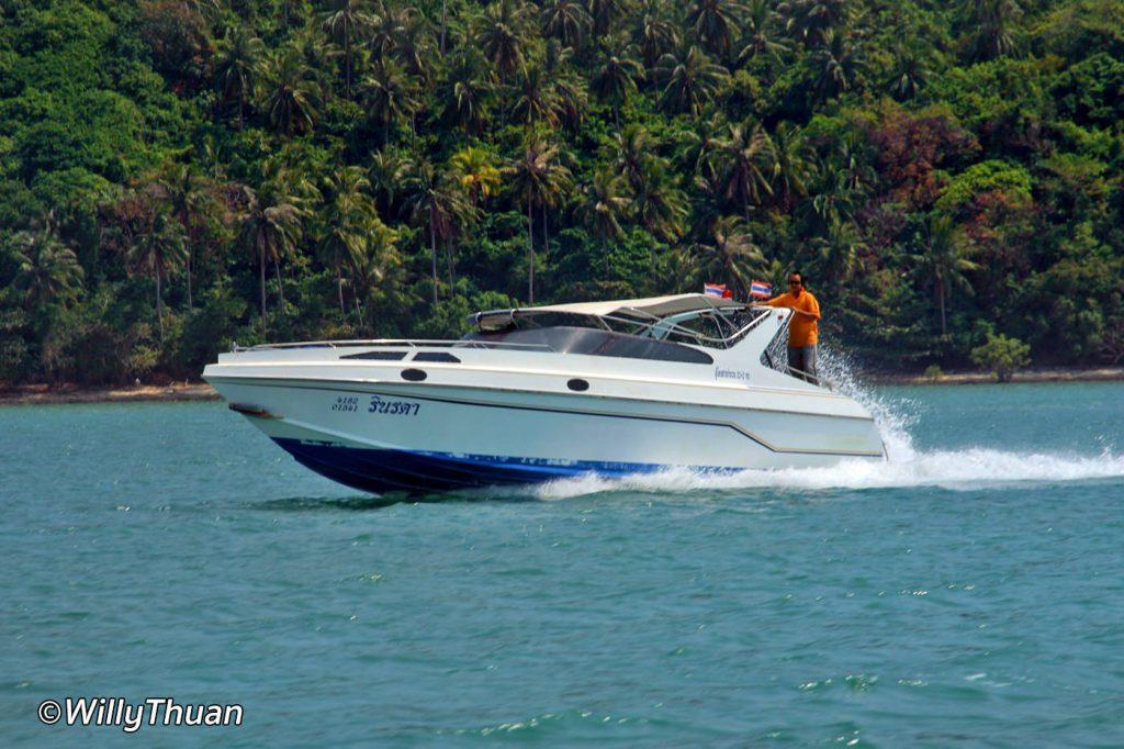 Phuket Speedboat