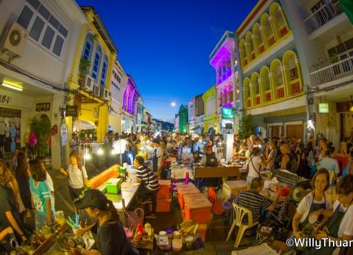 Phuket walking Street Weekend market