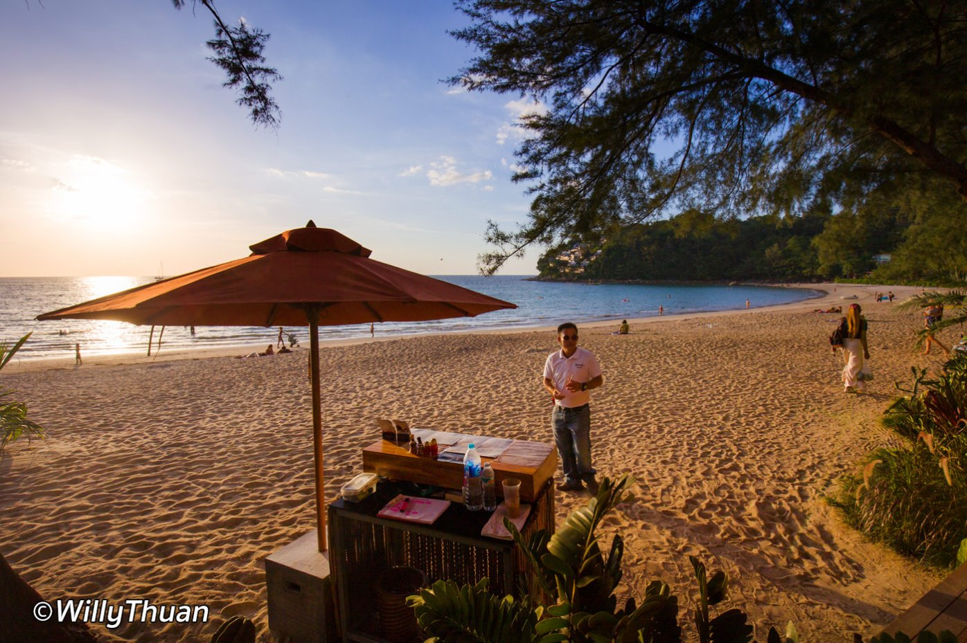 Sunset on Kamala Beach