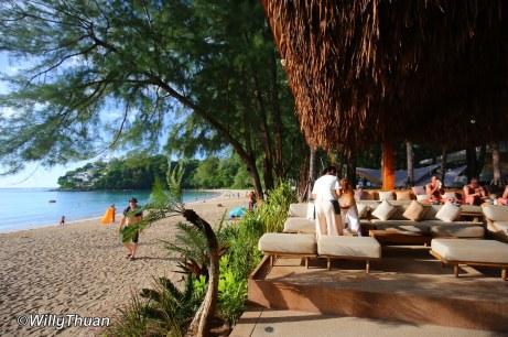 Cafe Del Mar Beach Club on Kamala Beach Phuket