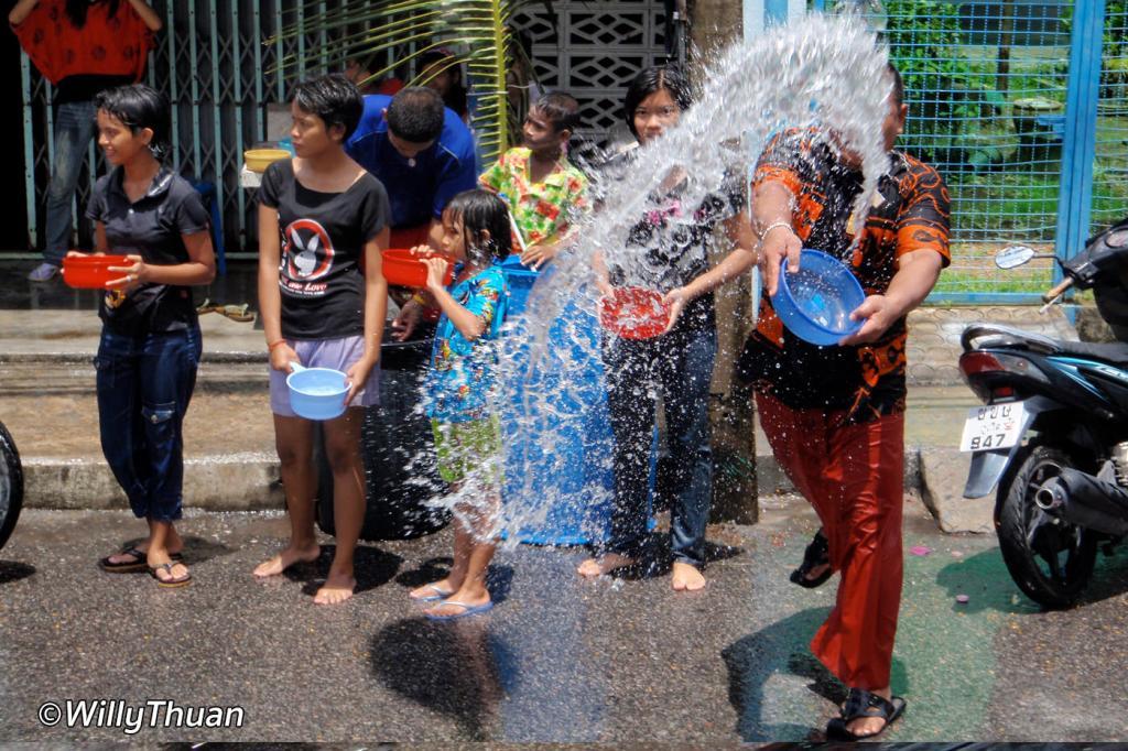 Songkran Festival in Phuket
