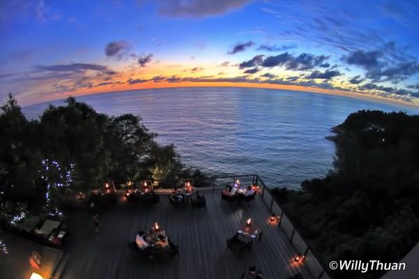 Diavolo Restaurant at Paresa Resort