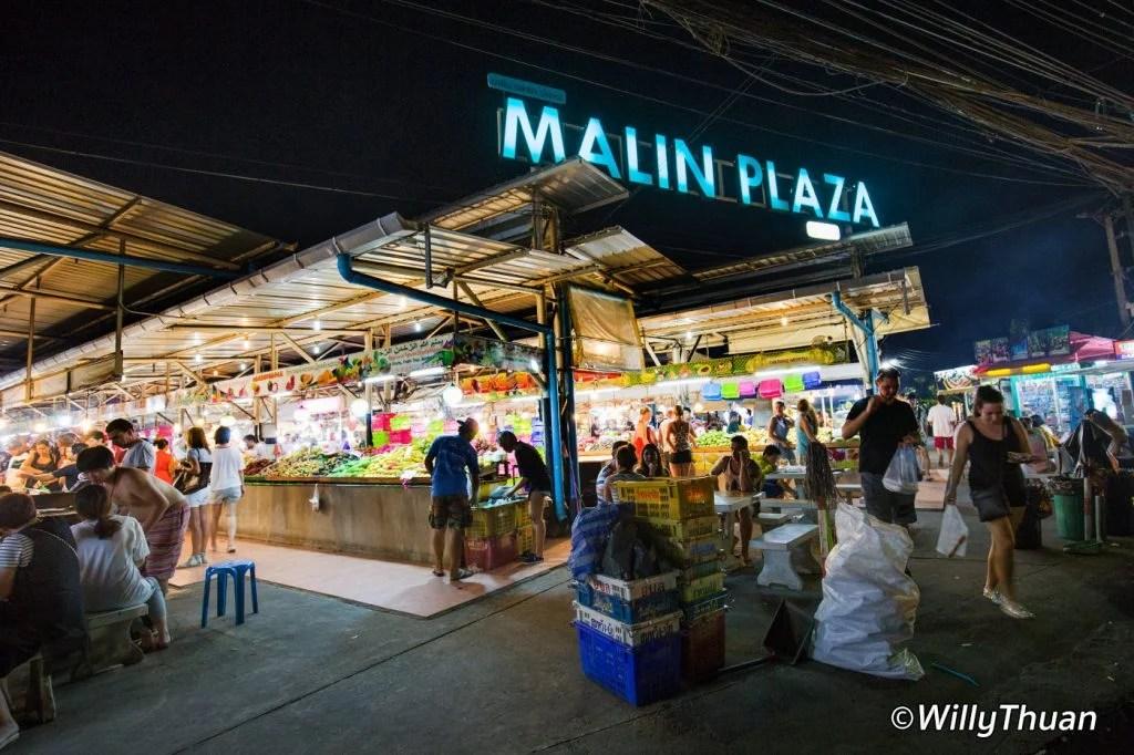 Malin Plaza Night Market Patong