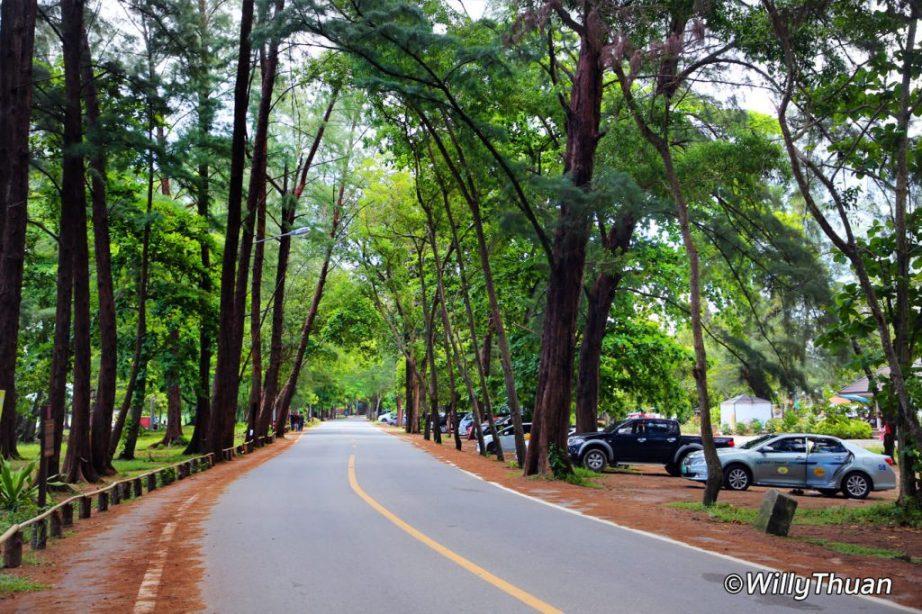 Siranat National Park and Nai Yang Beach