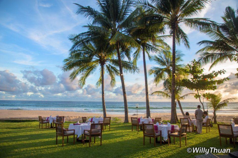 The Beach restaurant at The Surin