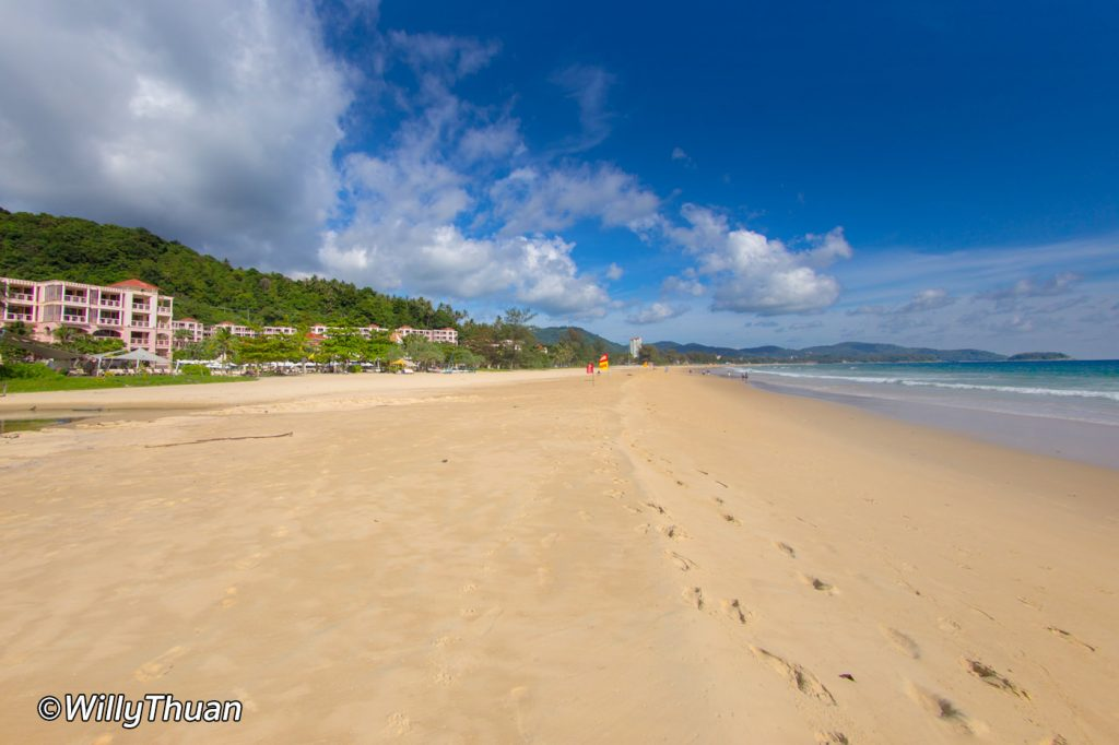 Karon beach in front of Centara Grand Beach Resort