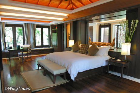 Trisara Phuket Pool Villa Bedroom