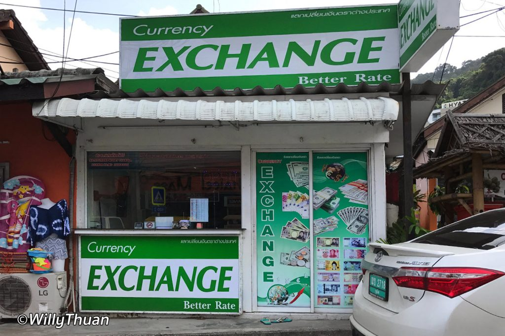 Exchange Rates in Phuket
