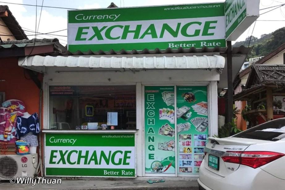 Exchange Rates in Phuket