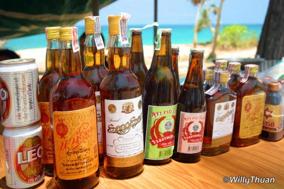 Thai Alcohols