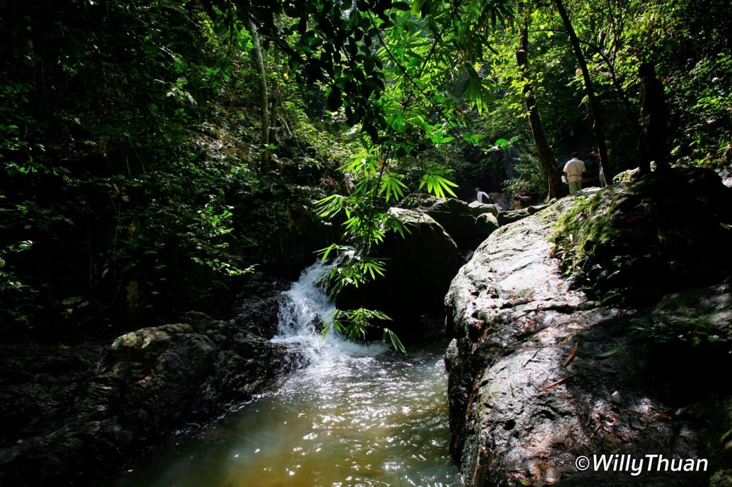 Bang Pae Waterfalls in Phuket