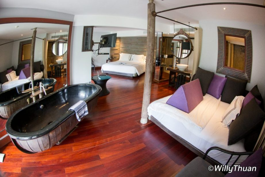 The rooms at The Slate Phuket