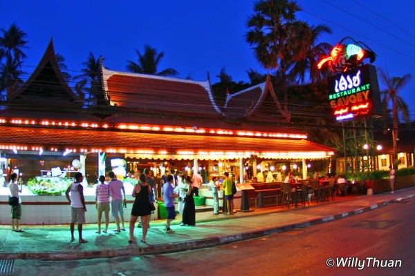Savoey Seafood Restaurant In Patong