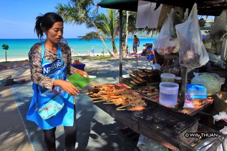 Grilled Chicken on Patong beach