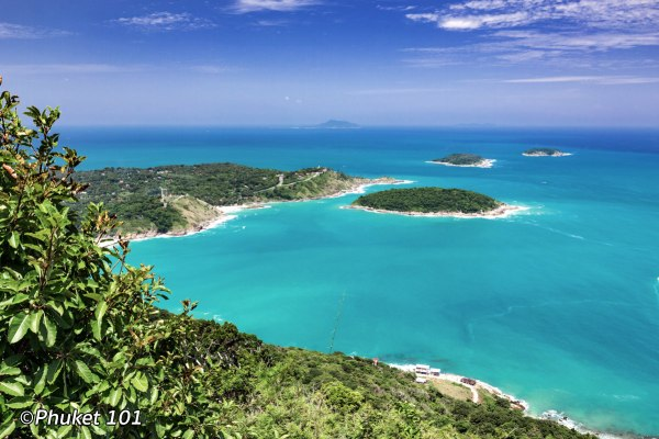 Black Rock Viewpoint in South Phuket