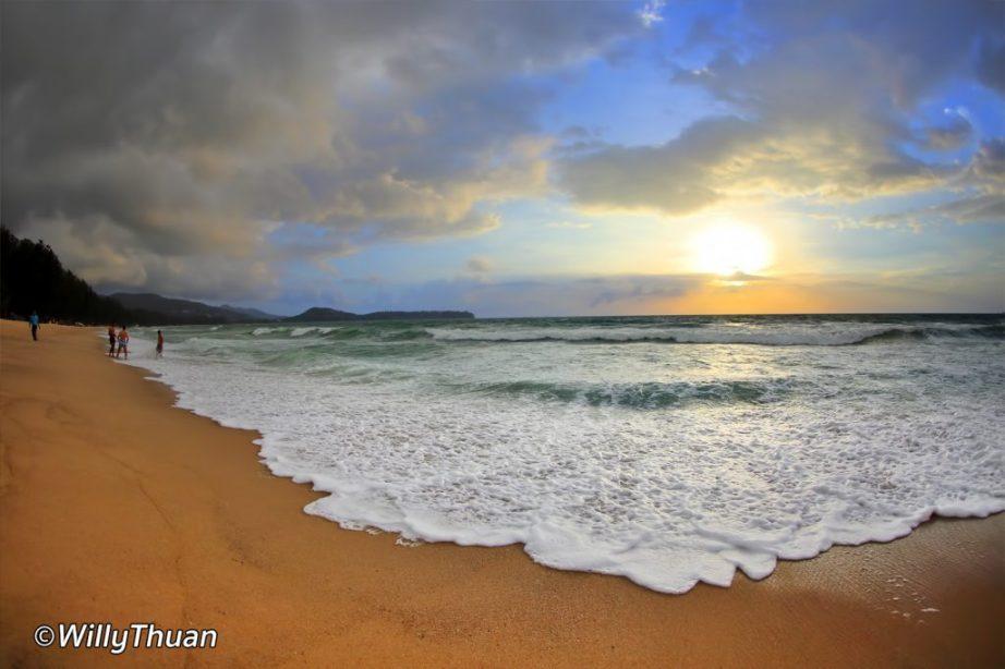 Bang Tao Beach on Phuket west coast