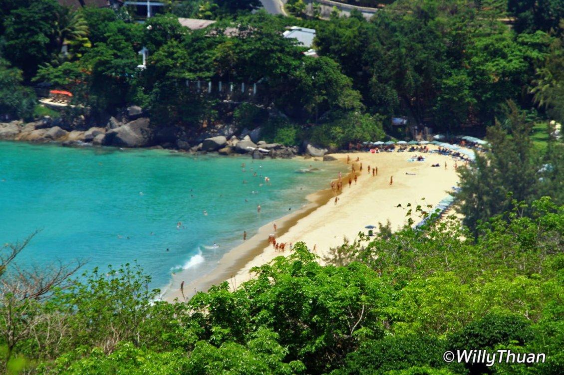Kata Noi Beach from Karon Viewpoint